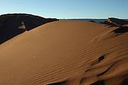 Sand Dune in Valle de la Luna (Valley of the Moon) in Chile's Atacama Desert, near San Pedro de Atacama