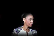 SAO PAULO, SP, BRASIL, 12/09/2010: A candidata a presidente da Republica Marina Silva - PV pouco antes do debate RedeTV! - Folha. (Foto: Caio Guatelli)