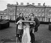 1963 -  Prince Rainier and Princess Grace and family at Carton House, Maynooth.