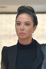 APR 22 2014  Tulisa arrives at Southwark Crown Court