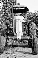 Tractor in Baragua, Ciego de Avila Province, Cuba.