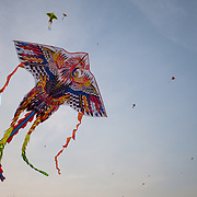 Kites flying, Ho Chi Minh City, Vietnam