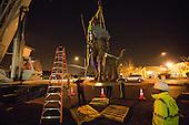 Milpitas Minute Man Sculpture Installation –Milpitas, California