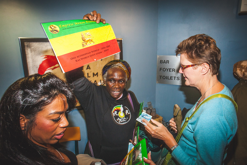 "Italian-French filmmaker, Giulia Amati (""Shashamane"") during during The Royal African Society's Annual Film Festival 2016. London, Tuesday 1 November 2016. (Photos/Ivan Gonzalez)"