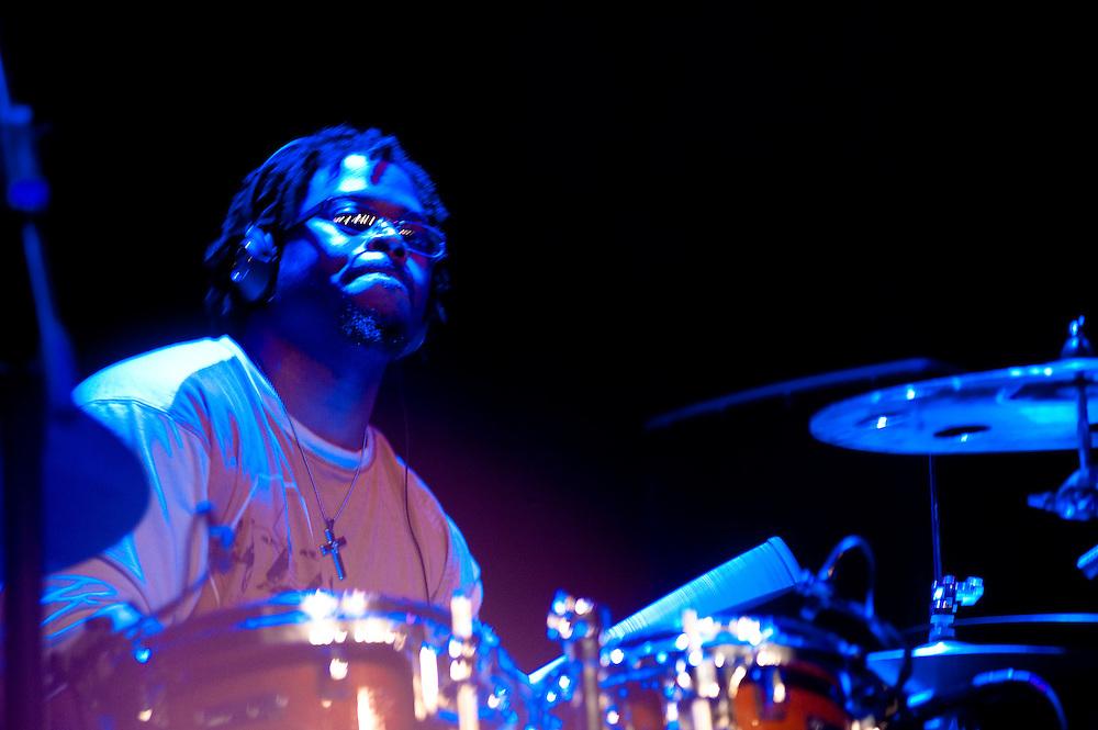 K'Naan's drummer