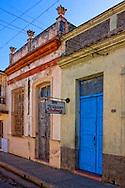 Buildings in Cardenas, Matanzas, Cuba.