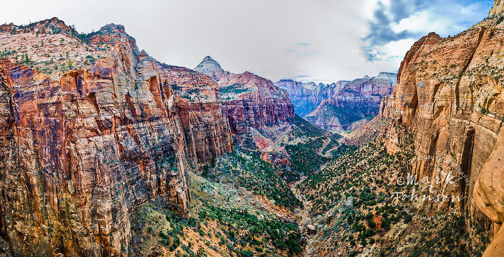 Zion National Park, Utah, USA --- Canyon in Zion National Park