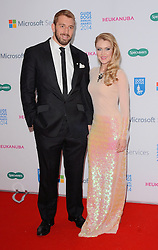 Chris Robshaw and Camilla Kerslake attend The Guide Dog Of The Year Awards 2014 at The Hilton Park Lane Hotel, London on Wednesday 15th December 2014