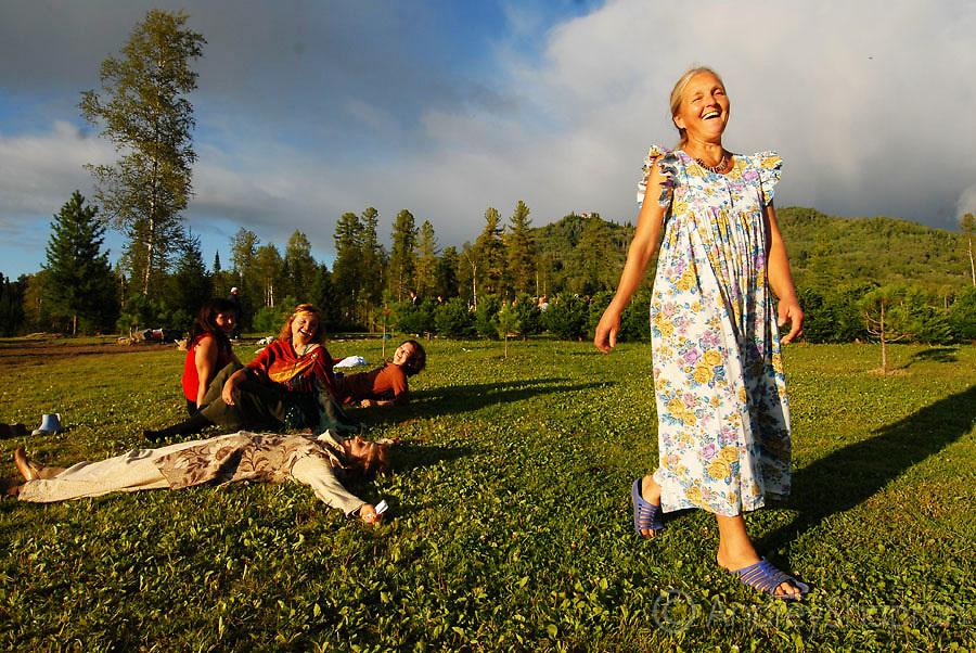 The Community of Vissarion in Siberia, Russia
