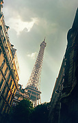 Image of the Eiffel Tower in Paris, France