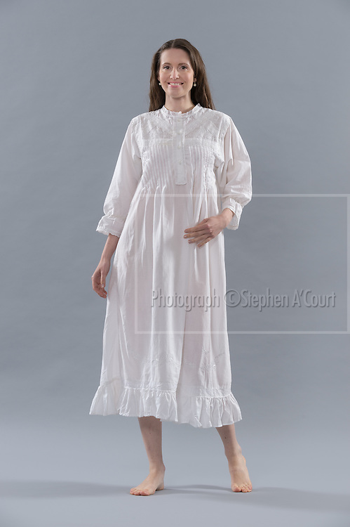 Romantic Nightgown. Photo credit: Stephen A'Court.  COPYRIGHT ©Stephen A'Court