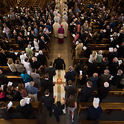 Gonzaga Mourns Passing of Beloved Jesuit Fr. Frank Costello at his funeral service at Saint Aloysius Church. (Photo by Gonzaga University)
