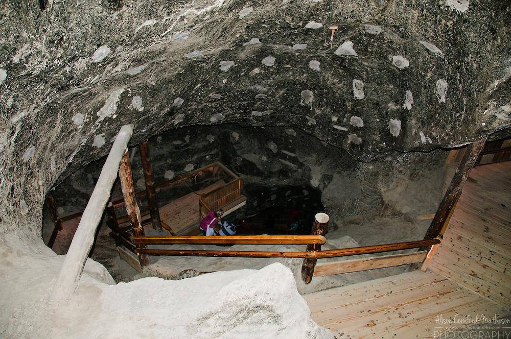 The Wieliczka Salt Mine, near Krakow, Poland, is a UNESCO World Heritage Site famous for its salt statues and chapels