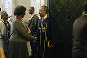 New York, NY- July 20: Rev. Al Sharpton attends the preaching of ' God is Here ' a sermon preached by Rev. Al Sharpton held at the historic Riverside Church on July 20, 2014 in New York City.  (Terrence Jennings)