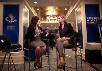 Randi Zuckerberg serves as digital correspondent for the Clinton Global Initiative Annual Meeting in New York.   ...Photo by Robert Caplin.
