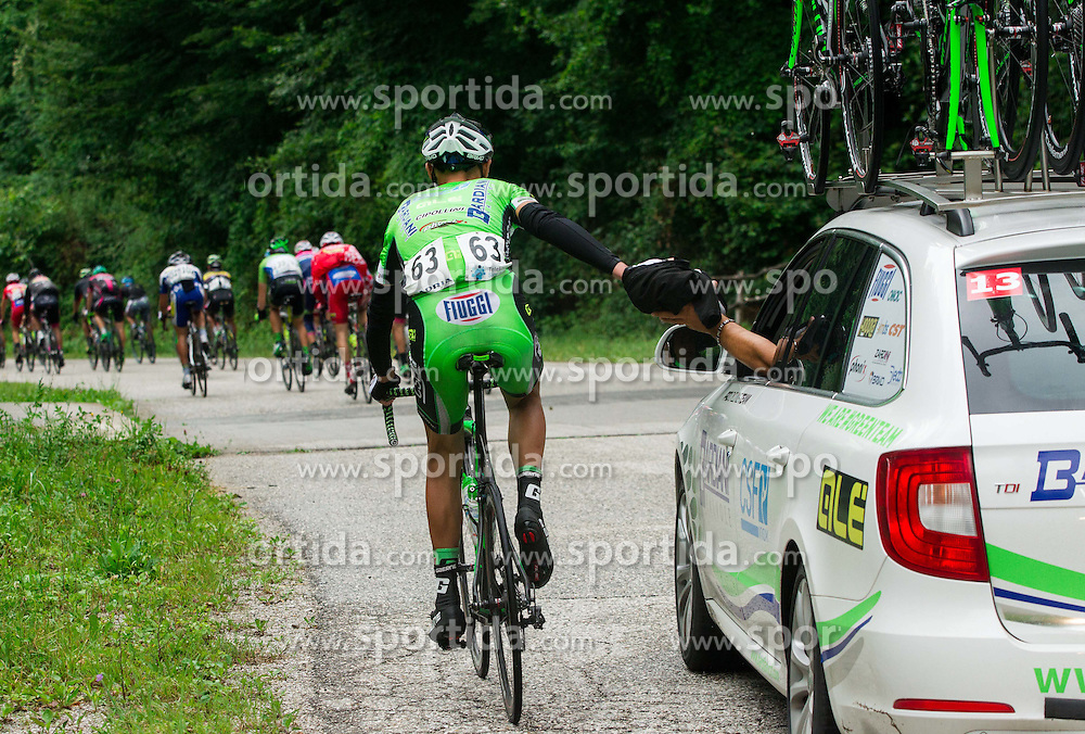 STERBINI Luca (Italy) of Bardiani CSF during Stage 2 of 22nd Tour of Slovenia 2015 from Skofja Loka to Kocevje (183 km) cycling race  on June 19, 2015 in Slovenia. Photo by Vid Ponikvar / Sportida