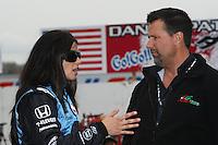 Danica Patrick, Michael Andretti, Indy Japan 300, Twin Ring Motegi, Motegi, Japan, 4/20/2008