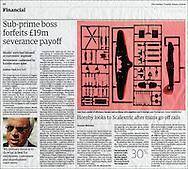 Airfix Model / The Guardian / Jan 2008