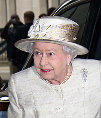 MAY 07 2014  The Queen, The Duke of Edinburgh, attendJournalists reception