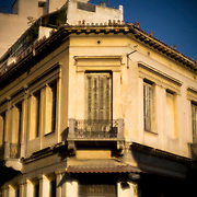 An abandoned neo classical building in Athens, Greece. Image © Angelos Giotopoulos/Falcon Photo Agency