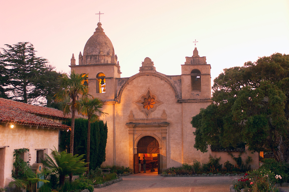 Mission San Carlos Borromero del Rio Carmelo, Monterey Peninsula, Carmel by the Sea, California, United States of America