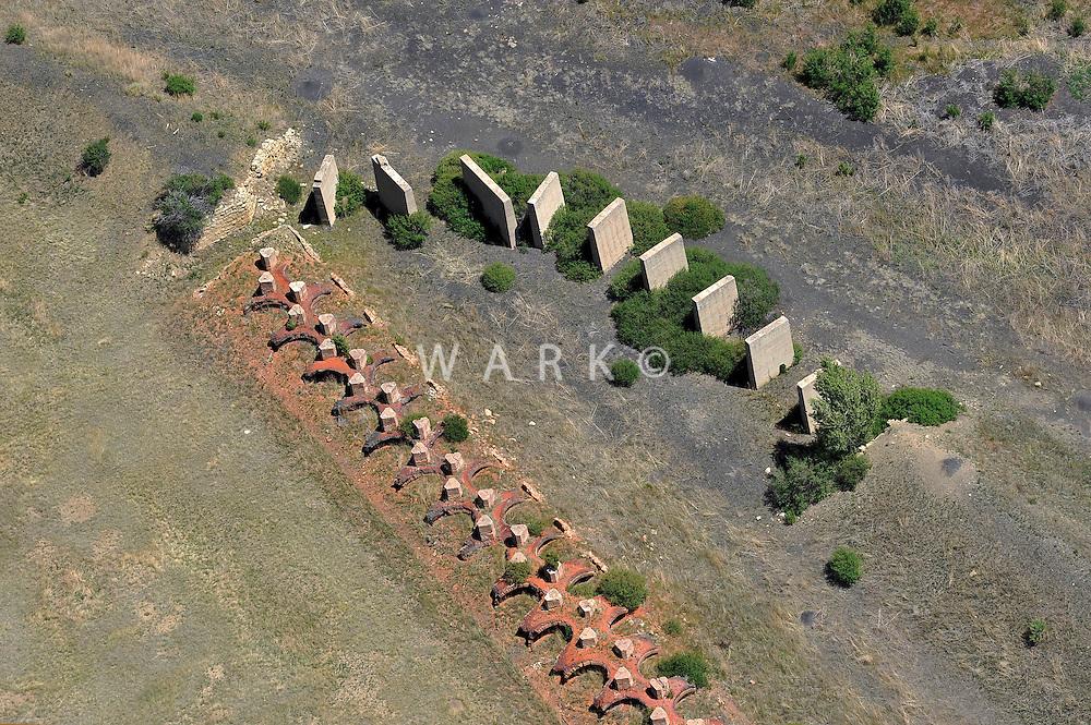 Coke oven ruins near Raton, NM