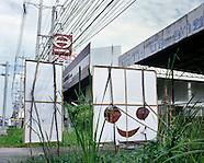 On the road to Suvarnabhumi airport