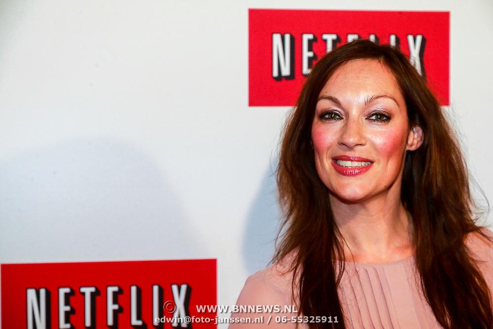 NLD/Amsterdam/20130911 - Lancering Netflix in Nederland, Maryanne van Reeden