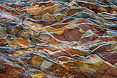 Montana: Glacier NP: stone patterns, natural abstracts