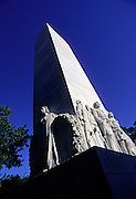 Image of the Monument honoring heroes at Alamo Square in San Antonio, Texas, American Southwest.