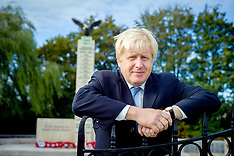Boris Campaigning in Uxbridge