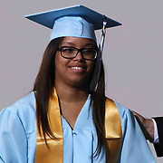 John Dickinson graduate Milly Malvelis Bra-Lorenzo receives her diploma during 55th commencement exercises Saturday, June 06, 2015, at The Bob Carpenter Sports Convocation Center in Newark, Delaware.
