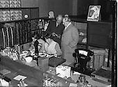 1952 - Visit of Sean MacEntee to P.J. Carroll and Co. Ltd tobacco factory, Dundalk