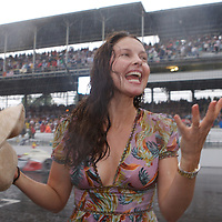 Entertainment - Ashley Judd Celebrates 2007 Indy 500 - Indianapolis, IN
