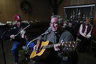 Reed Davis of Oxford was among musicians playing at Blcackjack Connection at Blackjack Presbyterian Church near Sardis Lake on Monday, March 21, 2010.