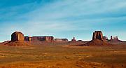 Single image of Monument Valley, Navajo Tribal Park, Arizona & Utah.