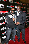 "l to r: Raekwon and Stacy Spikes, founder, Urbanworld Film Festival,  at the 12th Annual  Urbanworld Film Festival screening of ""Tennessee""  held in NYC at the AMC Loews Theater on September 12, 2008..The Urbanworld  Film Festival is dedicated to showcasing the best of urban independent film.."