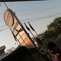 Indian oil fuel station. Chennai is the third largest commercial and industrial centre in India. It is considered to be the automobile capital of India, with a major percentage of the country?s automobile industry having a base in the city. Chennai is the second-largest exporter of IT services in India, behind Bangalore and is a base for the manufacture of hardware and electronics, with many multinational corporations setting up plants in its outskirts. The city faces problems with water shortages, traffic congestion and air pollution.