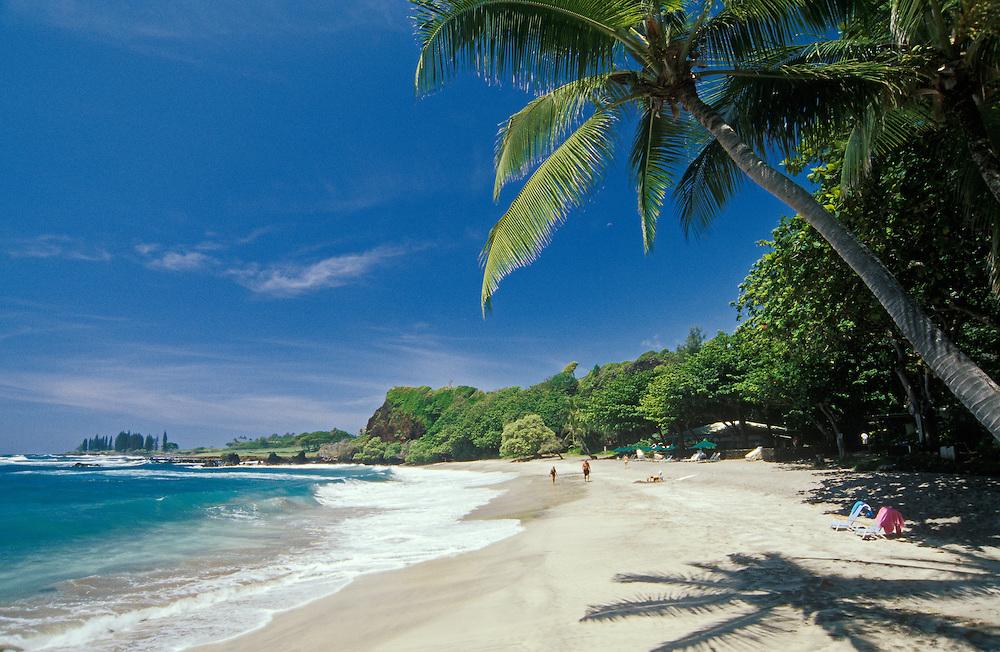 Hamoa Beach on the Hana coast; Maui, Hawaii.