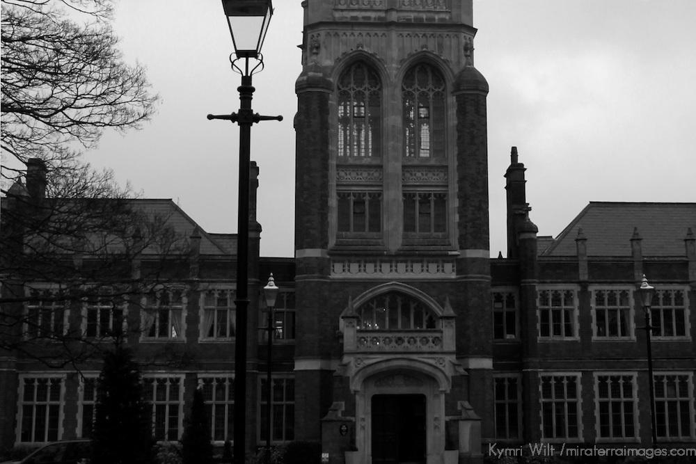 Europe, UK, England, Hertfordshire, Bushey.  Historical buidling  - former university, film studio, and currently residential loft development.