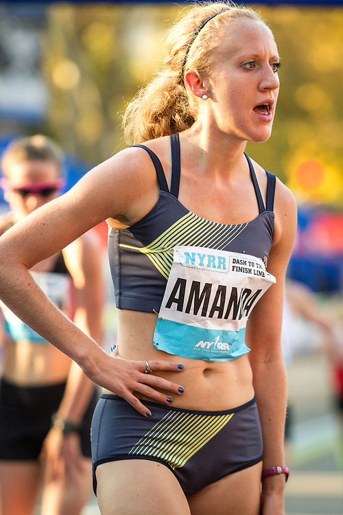 NYRR Dash to the Finish Line 5K road race: Amanda Winslow