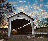 IN: Parke County: Covered Bridges, history