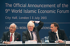 JULY 03 2013 Boris Johnson with Prime Minister of Malaysia
