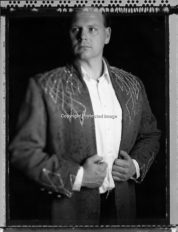 High wire walker Nikolas Wallenda poses for a portrait at the Ringling Brothers Barnum and Bailey Circus in New York, April 3, 2007.