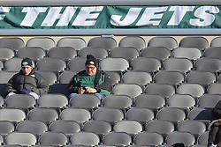 Dec 23, 2012; East Rutherford, NJ, USA; New York Jets fans during the first half of the game between the Jets and the San Diego Chargers at MetLIfe Stadium.
