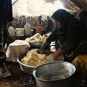 Zekarya making cheese
