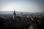 An overview of Bienne, Switzerland. Image © Angelos Giotopoulos/Falcon Photo Agency