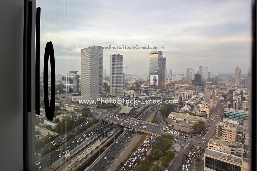 View of Tel Aviv from Google's offices in Tel Aviv, Israel