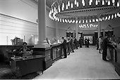 1962 - Interiors of Ulster Bank, College Green and Dublin Airport.