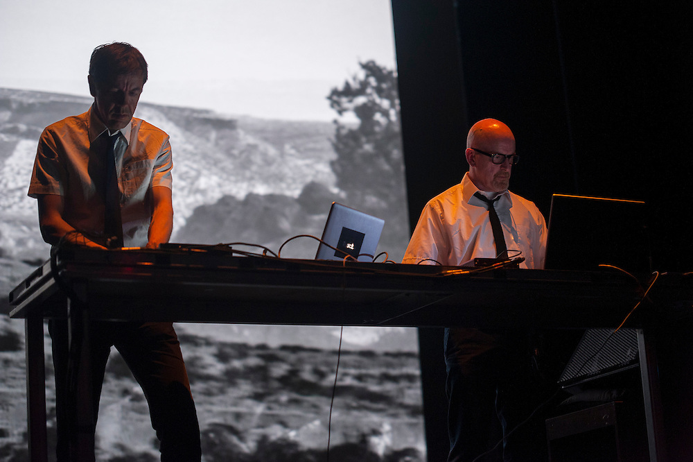 Biosphere & Lustmord present TRINITY (FR/NO), A vision 1, Monument National, Montreal, 30 mai 2012.